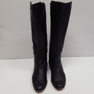 Coach softy leather boots